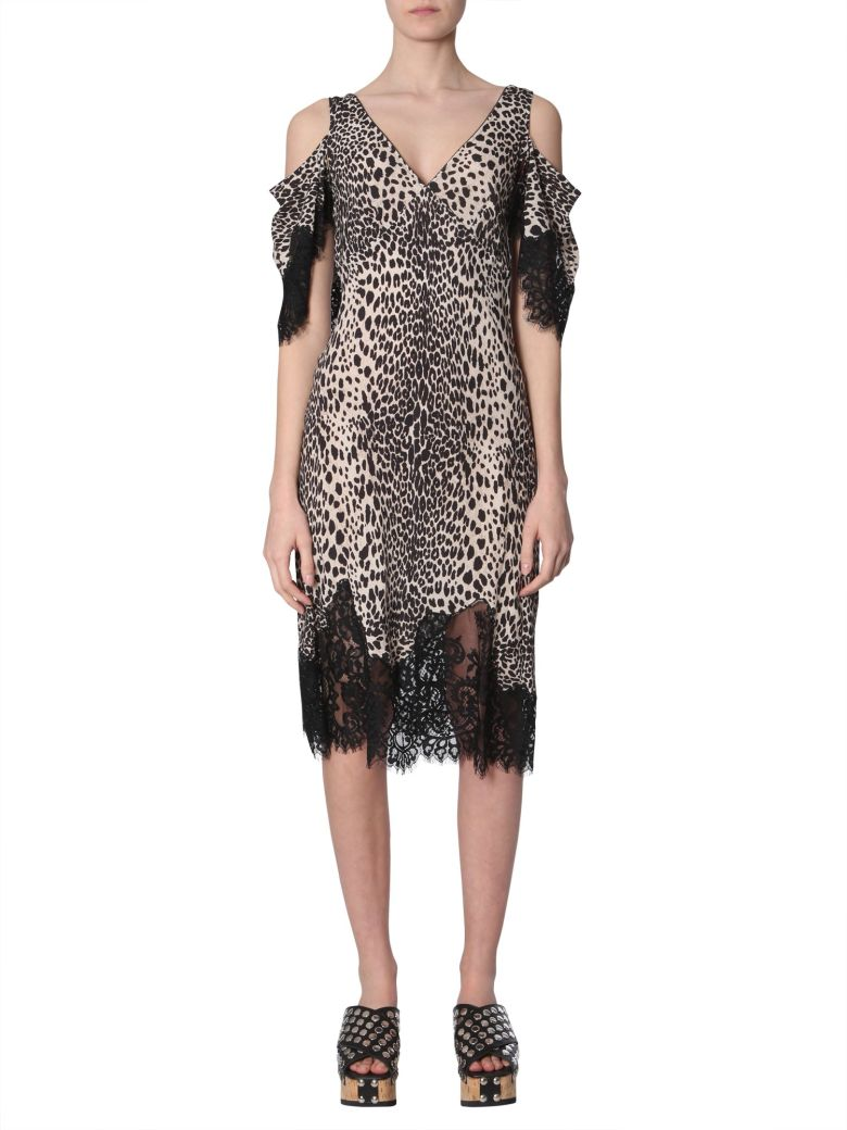 McQ Alexander McQueen Leopard-print Dress - NERO
