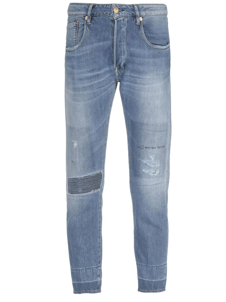 Golden Goose Jolly Pant - MIDDLE BLUE