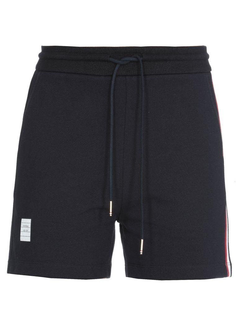 Thom Browne Cotton Shorts - Blue