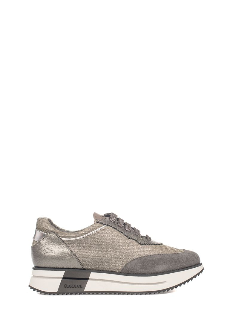 Alberto Guardiani Gray Sport Lady Way Sneakers - Gray