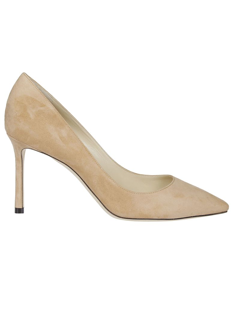 Jimmy Choo Romy 85 Pumps - Beige