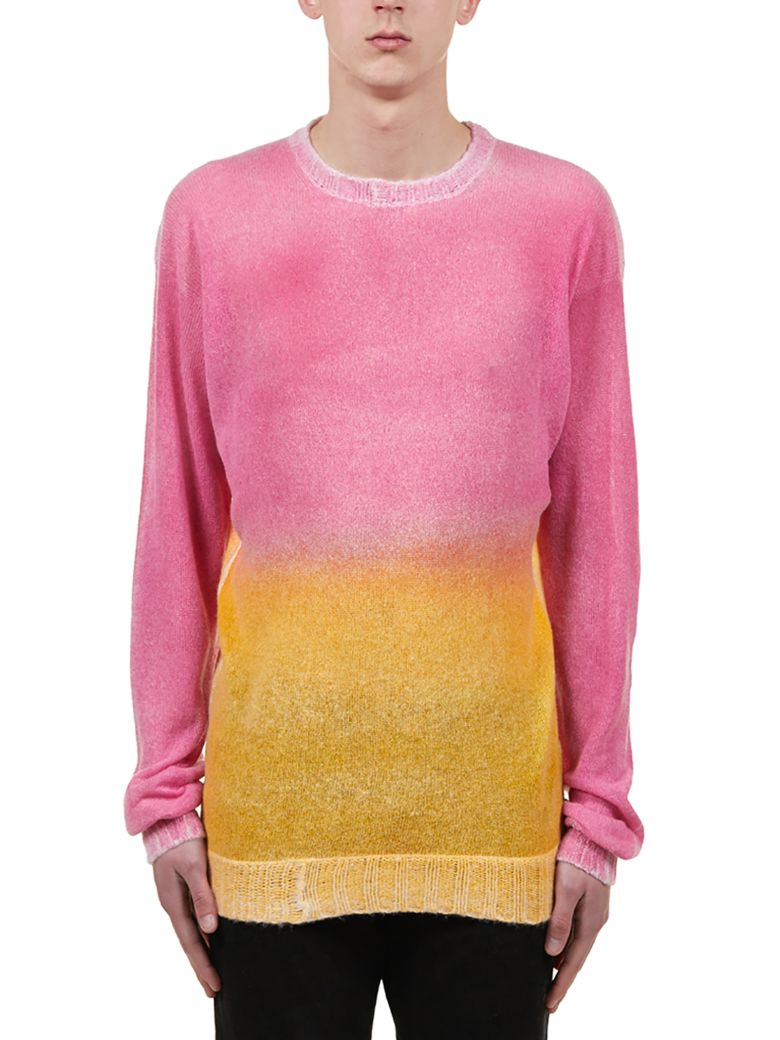 Maison Flaneur Knitted Sweater - Pink/yellow