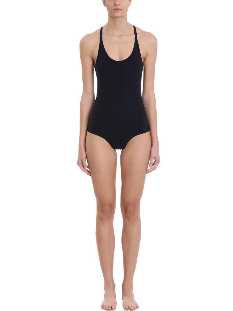 Rick Owens Cross Back Bathing Suit - black