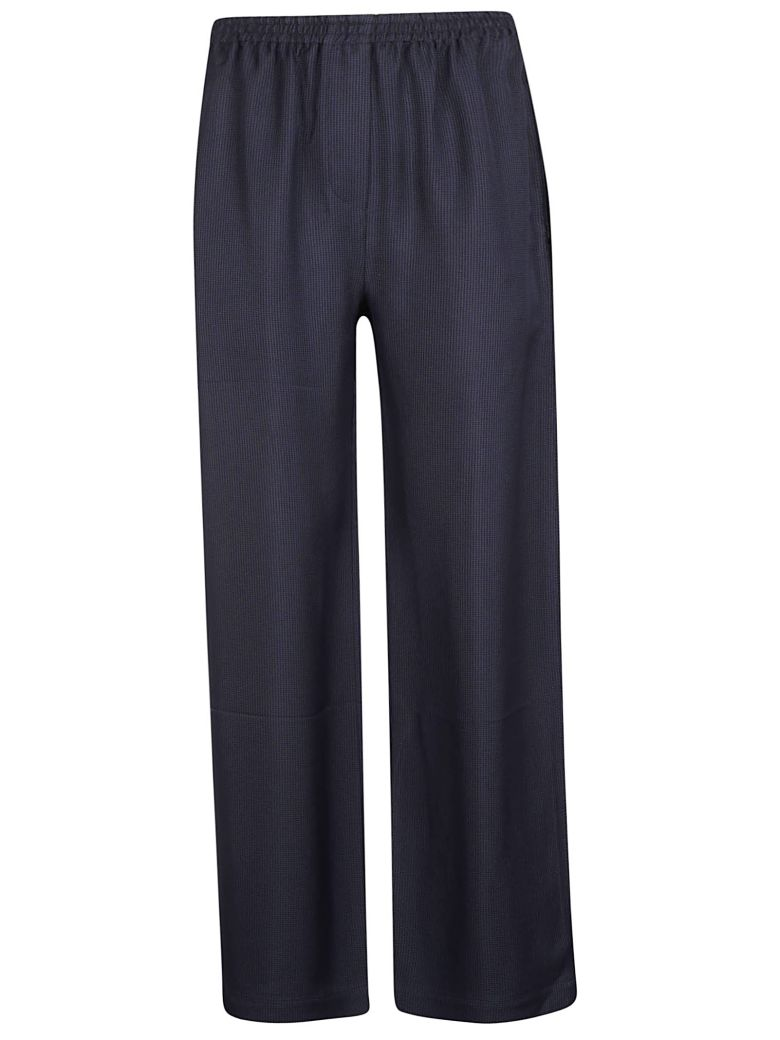 Acne Studios Relaxed Fit Trousers - Navy