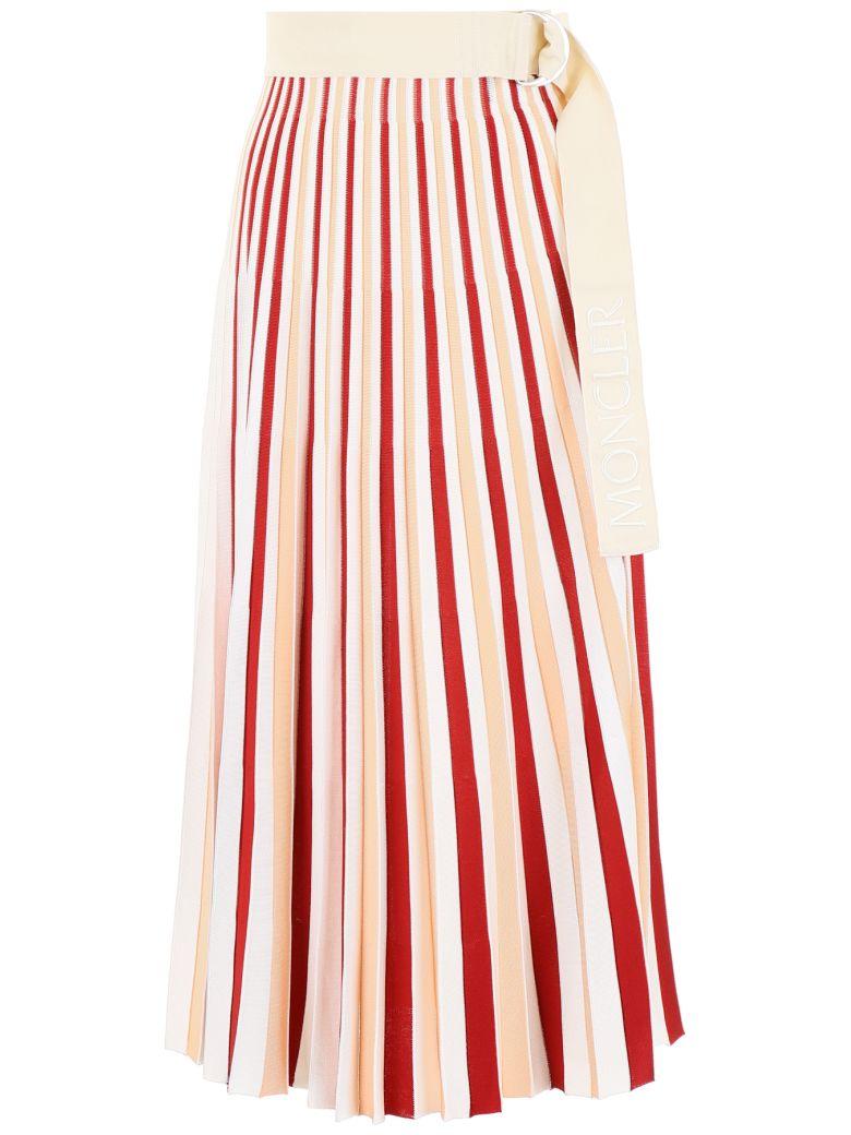 Moncler Moncler Genius Skirt - WHITE RED PINK (Beige)