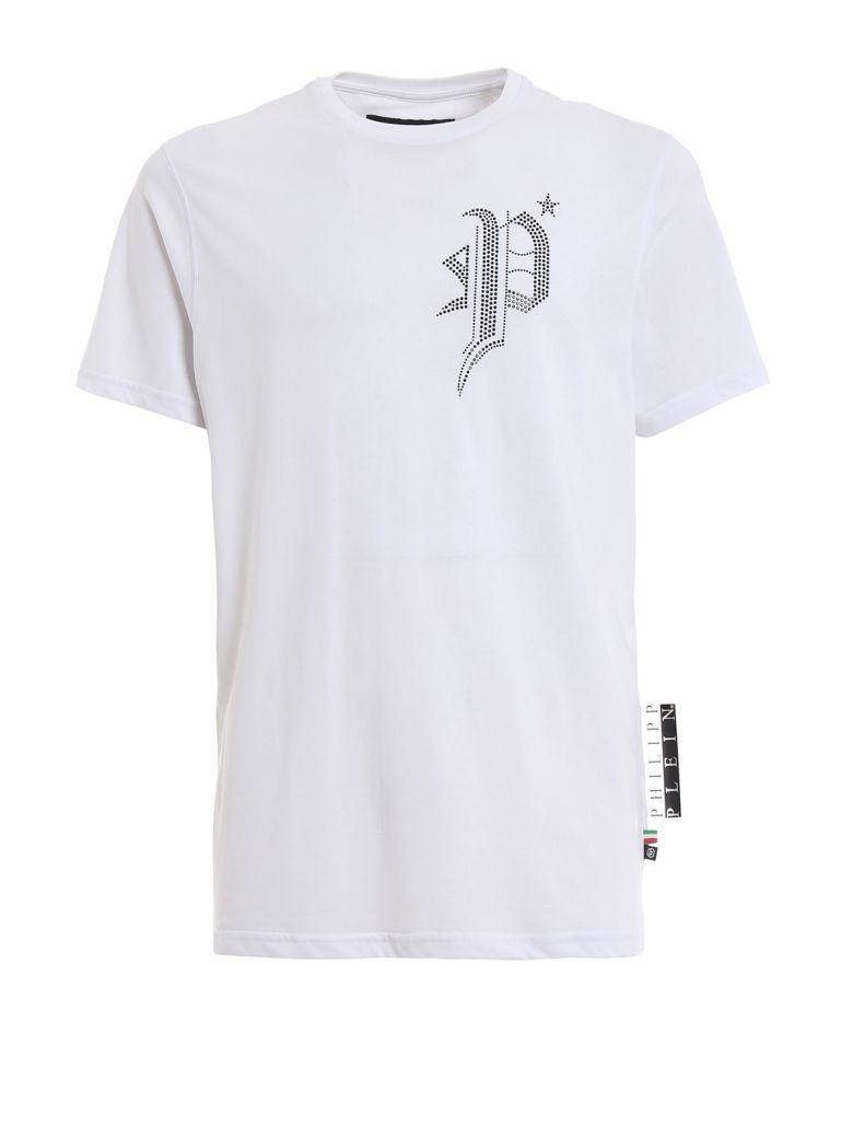 Philipp Plein Contrast P T-shirt - White