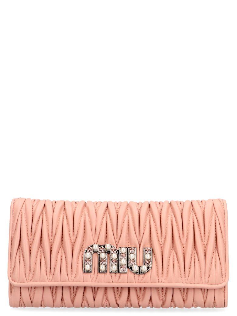 Miu Miu Wallet - Pink