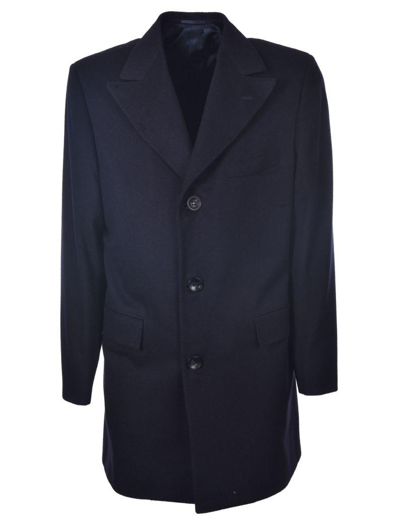 Kiton Classic Coat - Navy