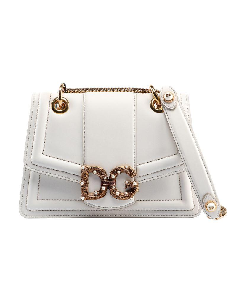 Dolce & Gabbana Amore Shoulder Bag - White