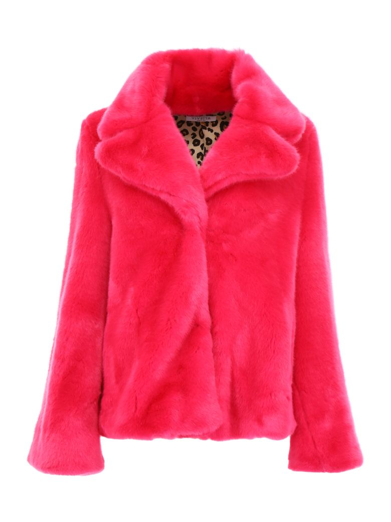 Vivetta Faux Fur Jacket - FUXIA|Fuxia