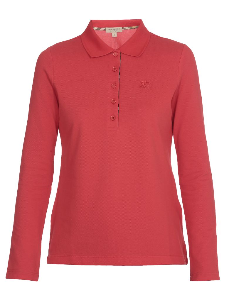 Burberry Zulia Polo Shirt - BRIGHT RED