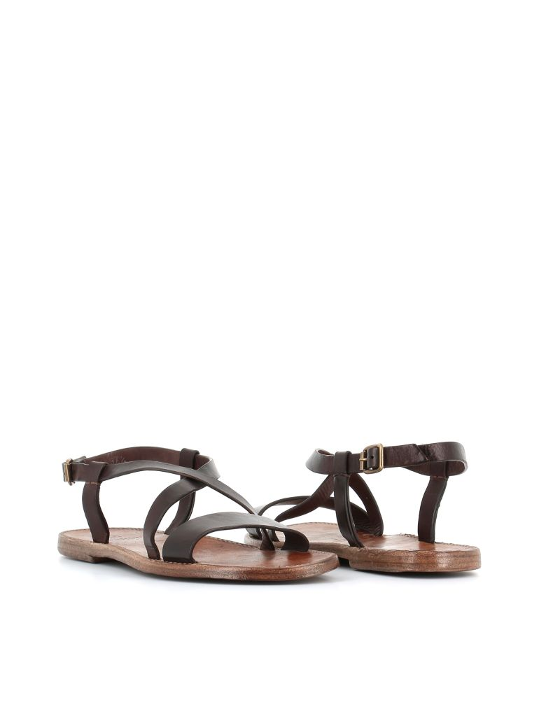 Silvano Sassetti Flat Sandals - Brown