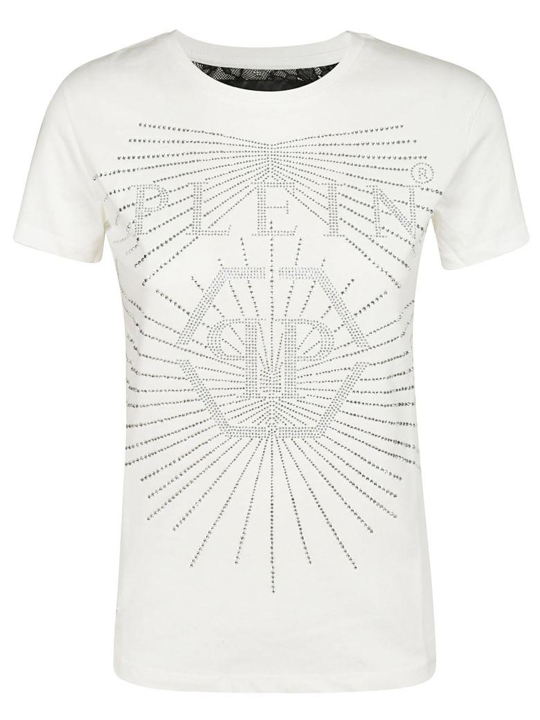 Philipp Plein Logo Applique T-shirt - White