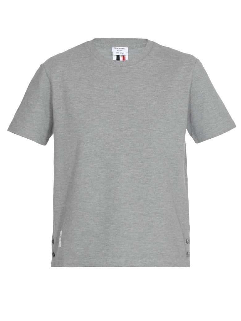 Thom Browne Cotton T-shirt - Light grey