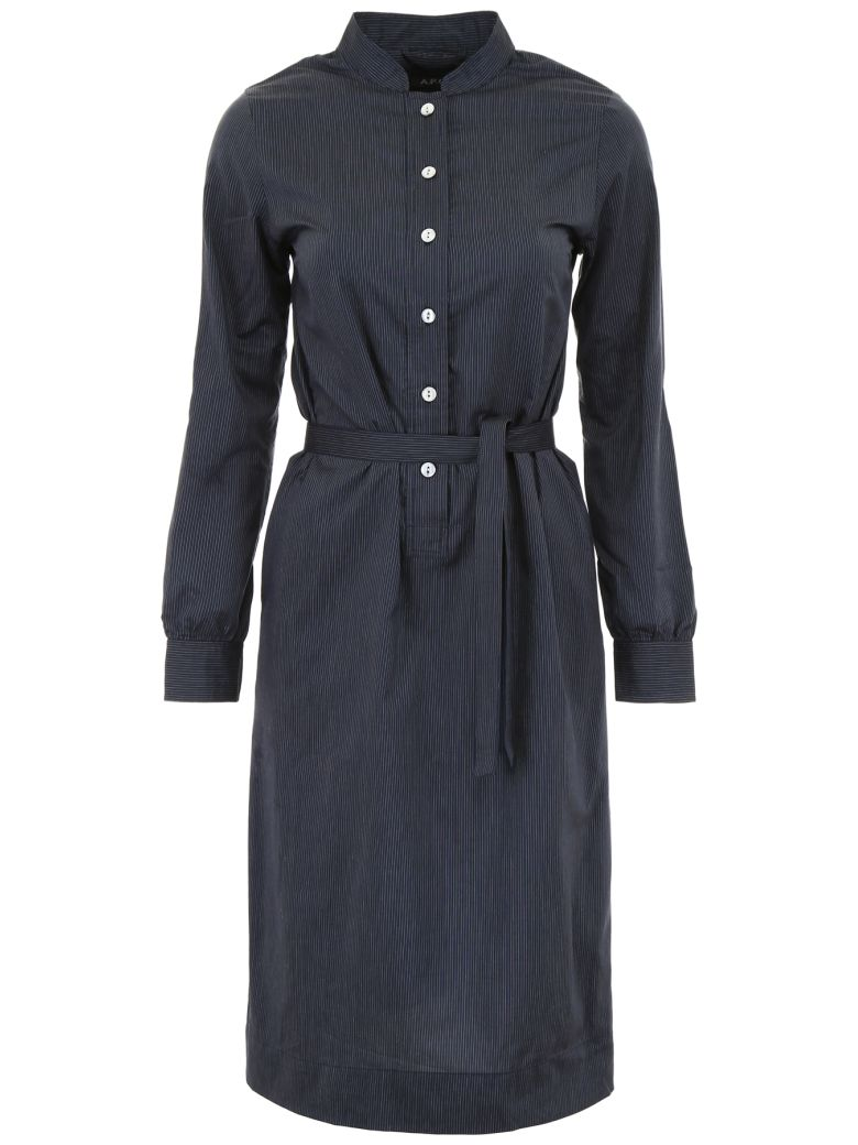 A.P.C. Anne Dress - FAUX NOIR|Blu