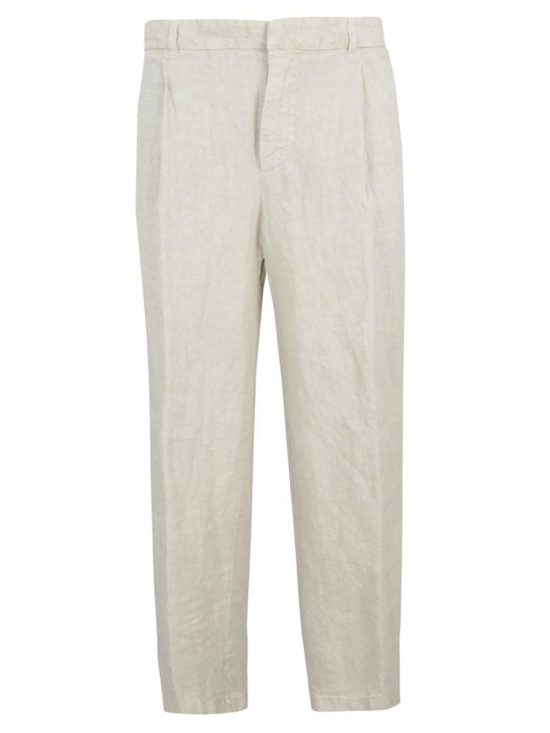 Aspesi Wide Leg Trousers - Gray