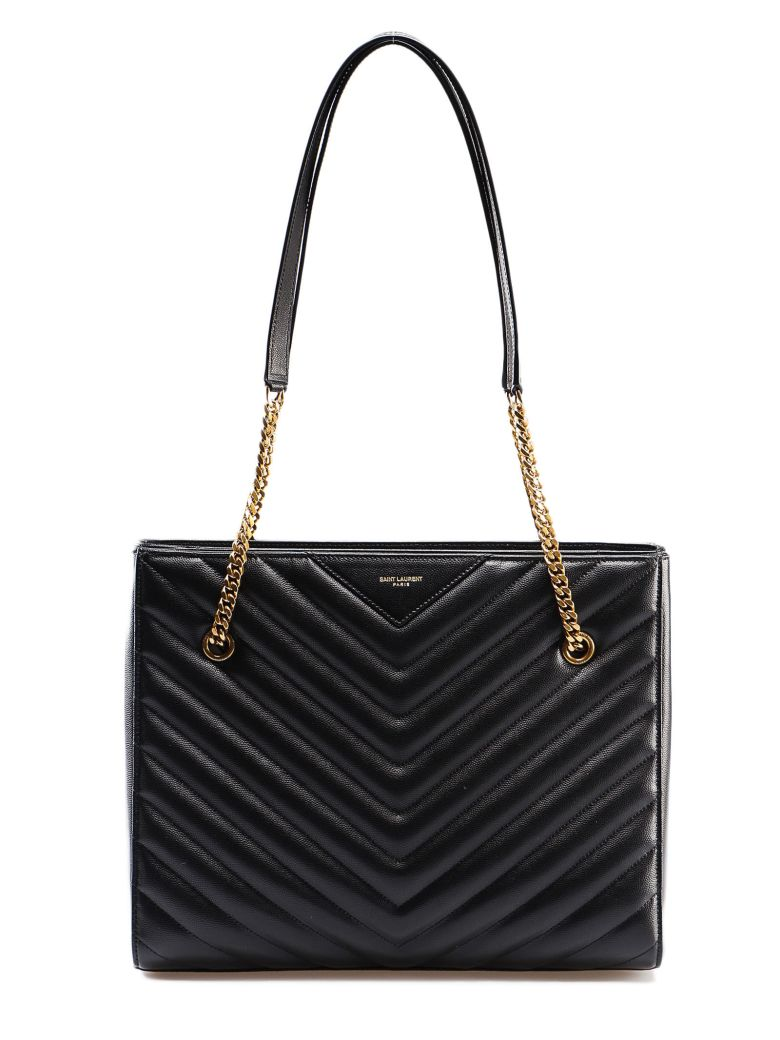 Saint Laurent Tribeca Shoulder Bag - Black