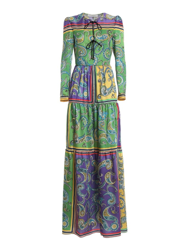 Philosophy di Lorenzo Serafini Philosophy Di Lorenzo Serafini Long Print Tunic Dress - Multicolor