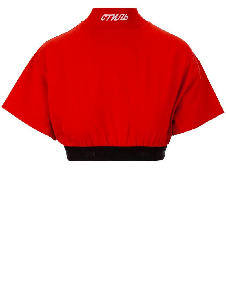 HERON PRESTON T-shirt - Red