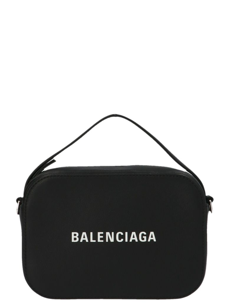 Balenciaga 'camera Bag Everyday Xs' Bag - Black