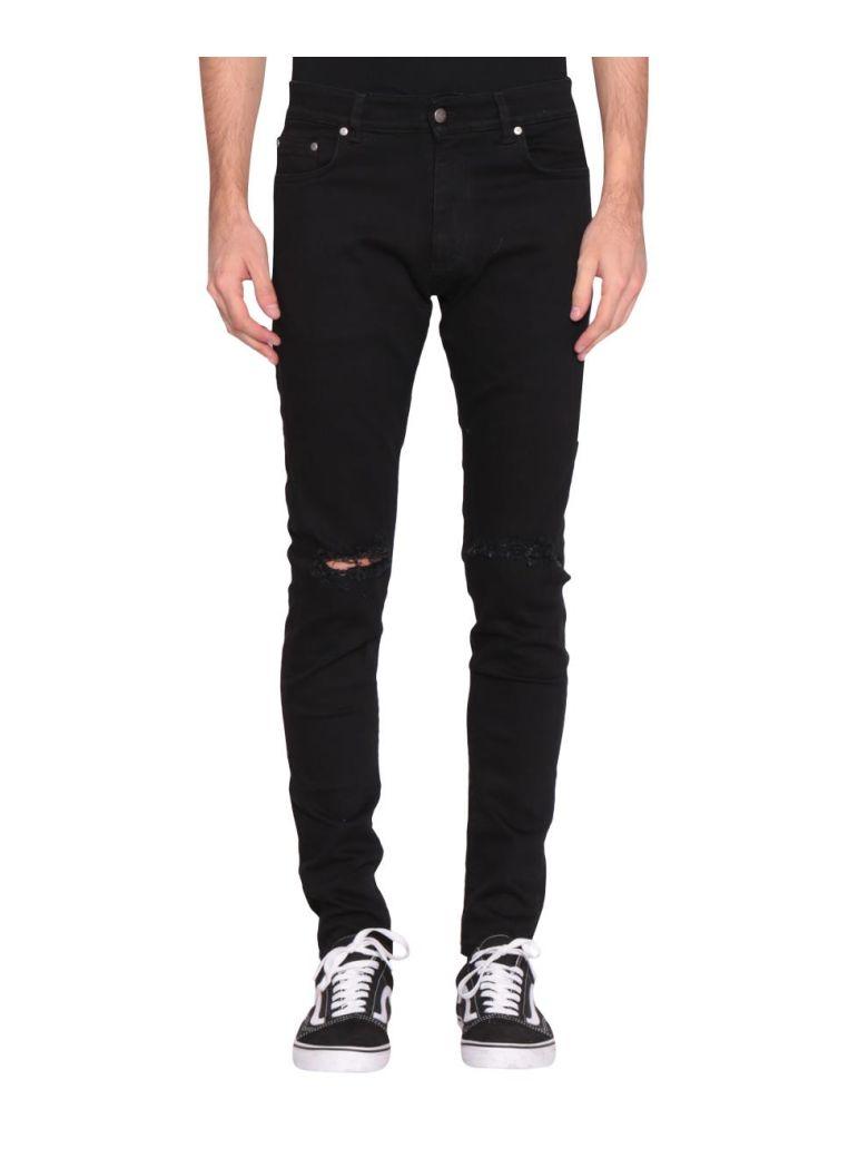 REPRESENT Destroyed Denim Jeans - NERO
