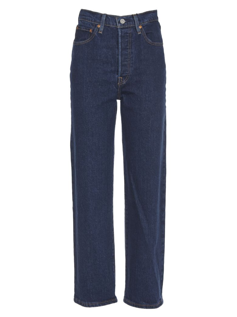 Levi's Straight Leg Jeans - Blu