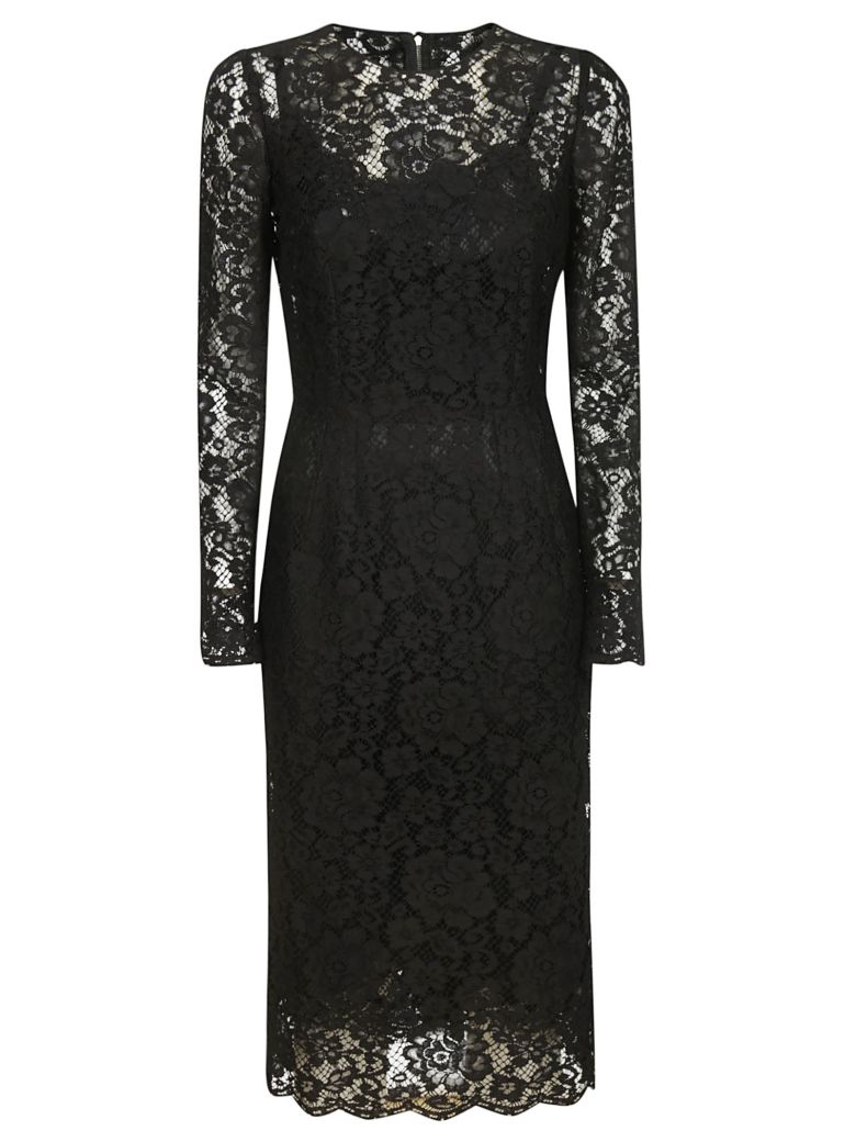 Dolce & Gabbana Lace Dress - Black