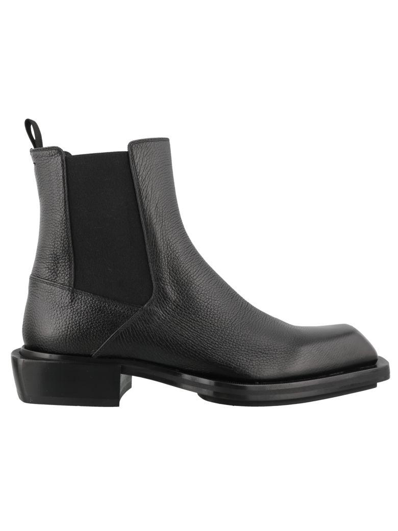 Alexander McQueen Leather Bootie - Black