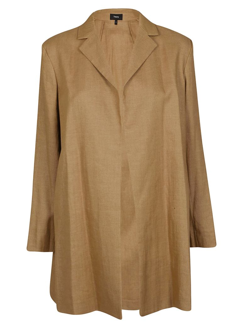 Theory Oversized Fit Jacket - Beige