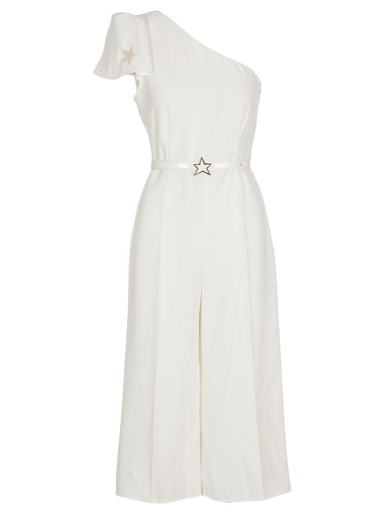 Elisabetta Franchi Celyn B. Elisabetta Franchi Crepe Dress - White