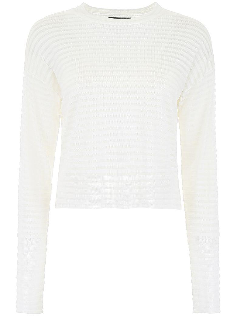 RTA Striped Pullover - WHITE CLOUD (White)