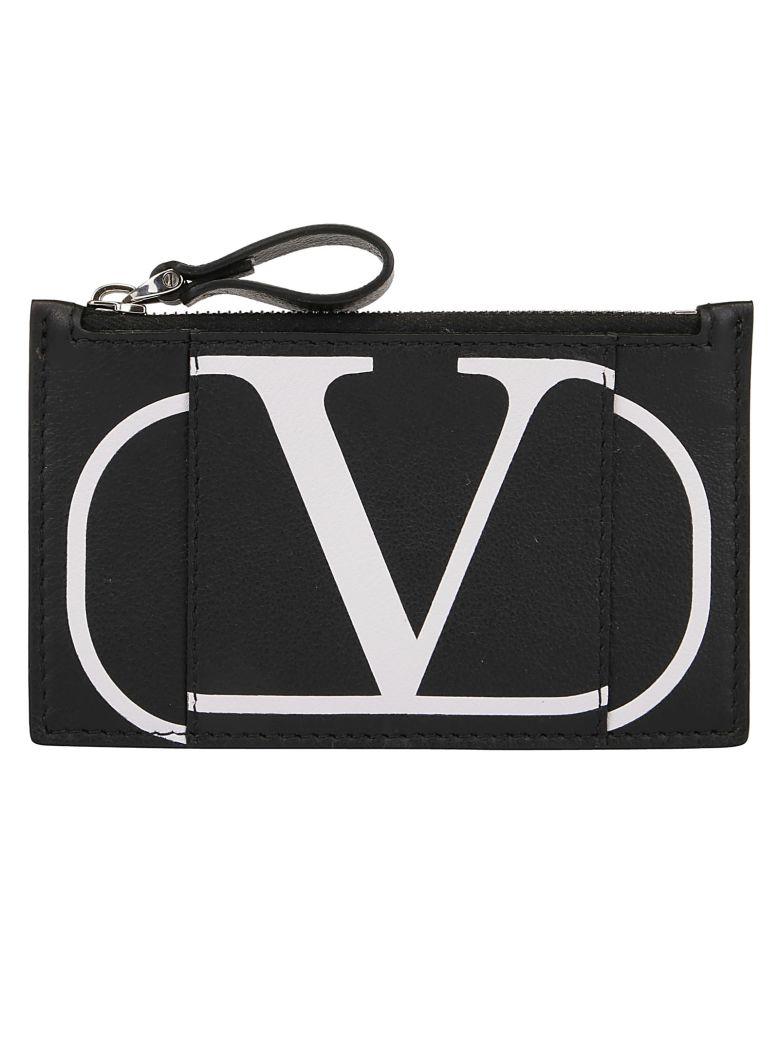 Valentino Garavani Card Holder - Nero/bianco ottico