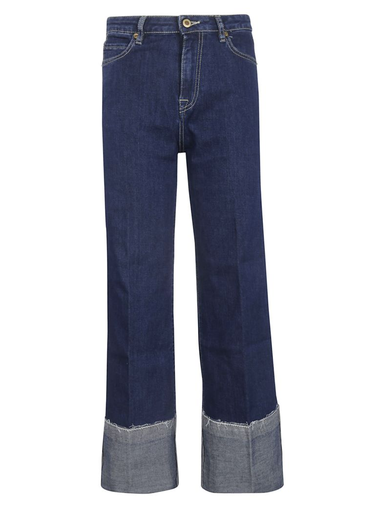 True Nyc Wide Leg Jeans - Scuro