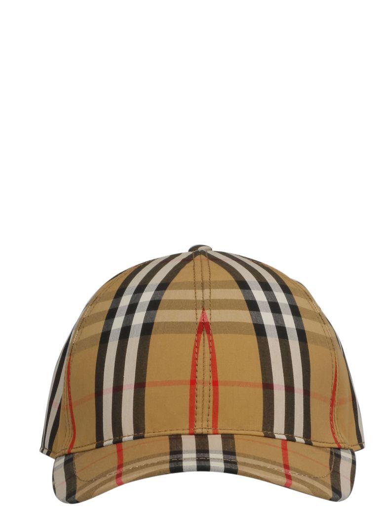 Burberry Vintage Check Pattern Cap - Basic