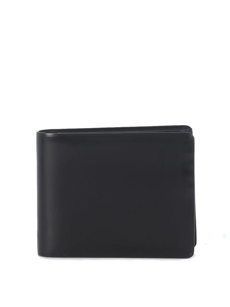 Il Bussetto Black Tuscan Leather Wallet - Black