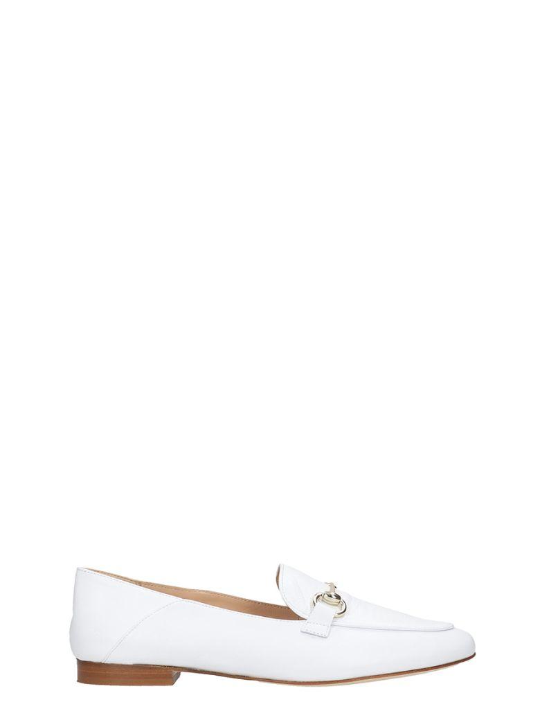 Fabio Rusconi Loafers In White Leather - white