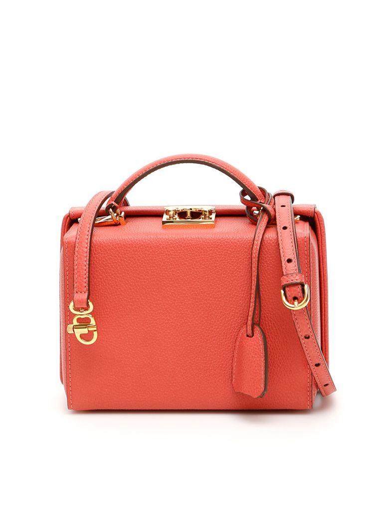 Mark Cross Grace Small Bag Caviar - RED CLAY (Pink)