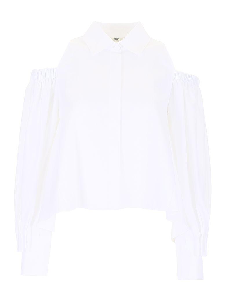 Fendi Oxford Shirt - WHITE|Bianco