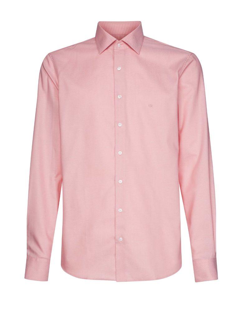 Calvin Klein Calvin Klein Logo Cotton Shirt - NUDE