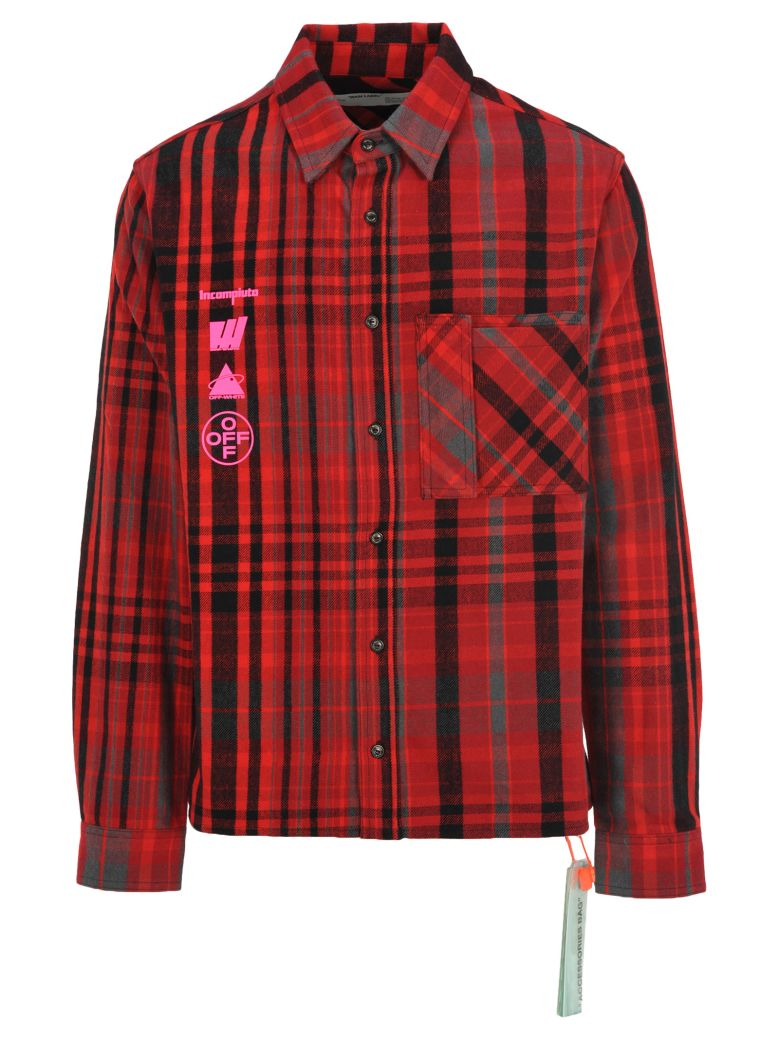 Off-White Off White Mariana De Silva Check Shirt - RED CHECK