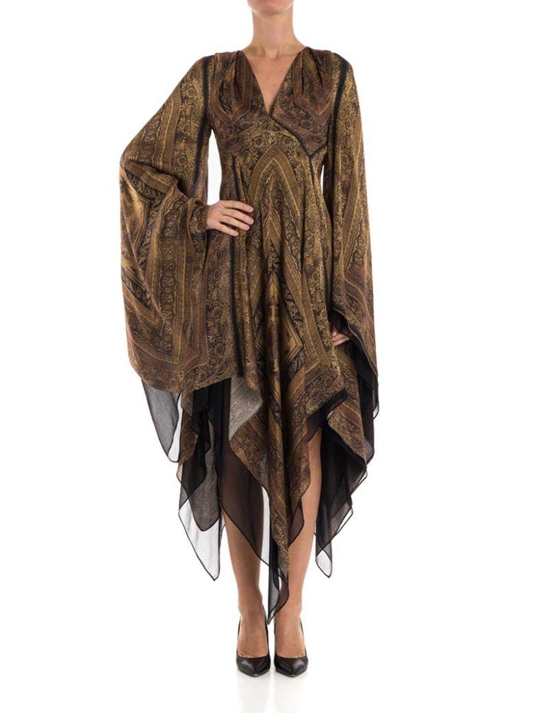 Plein Sud Silk Dress - MULTICOLOR