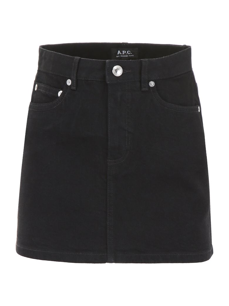 A.P.C. Denim Mini Skirt - Basic