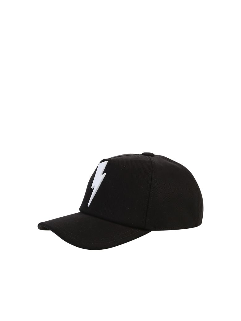 54dcd1762f3 Neil Barrett Neil Barrett Printed Baseball Hat - Black - 10815110 ...