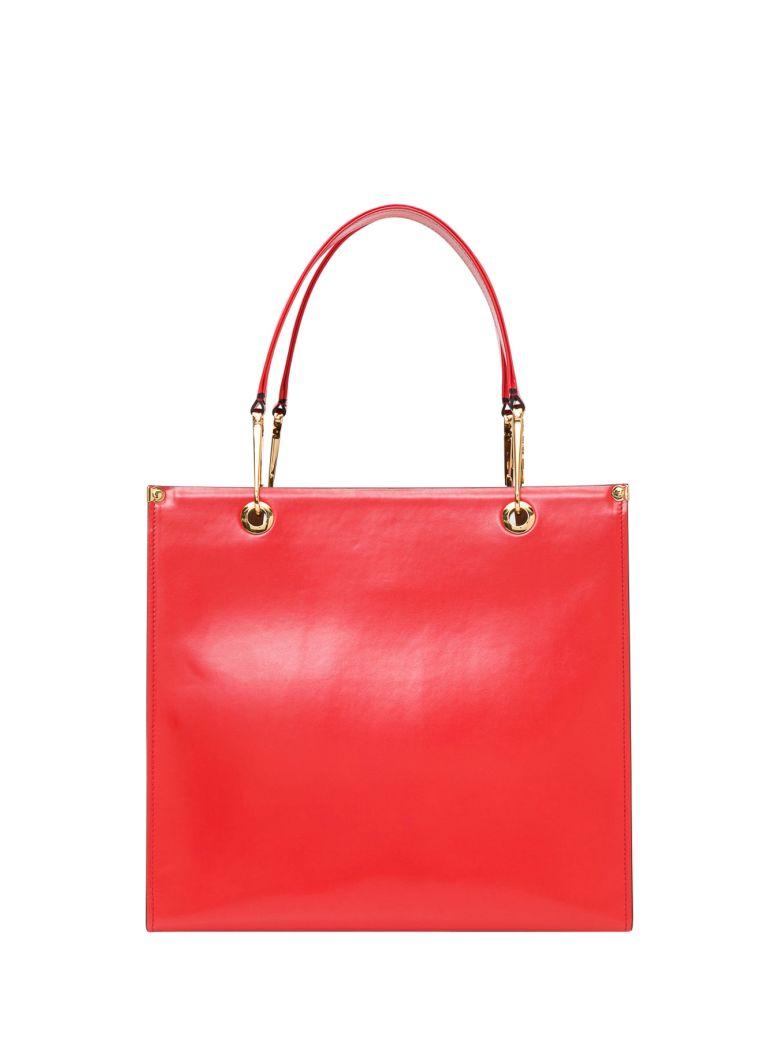Marni Grip Tote Bag - Rosso