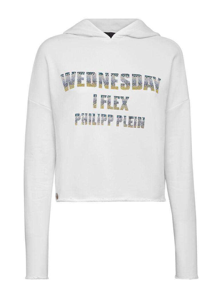 Philipp Plein White Sweatshirt - White