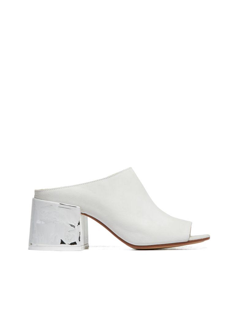 MM6 Maison Margiela Flat Shoes - Bianco