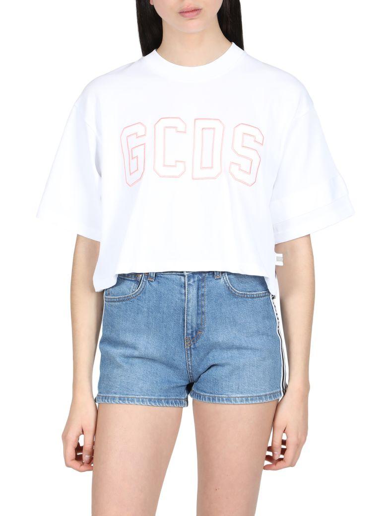 GCDS Short Sleeve T-Shirt - Bianco