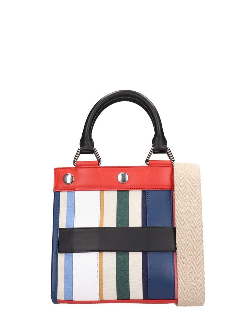 Sonia Rykiel Multicolor Leather Pm Cindy Tote Bag - multicolor