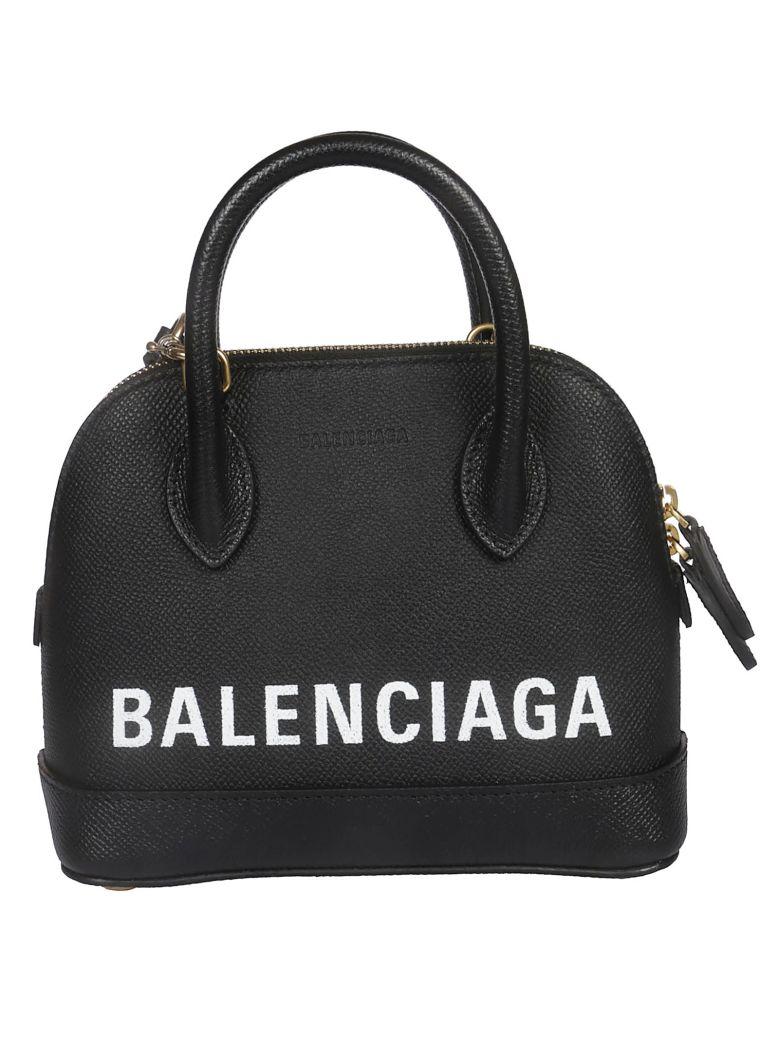 Balenciaga Logo Tote - Black