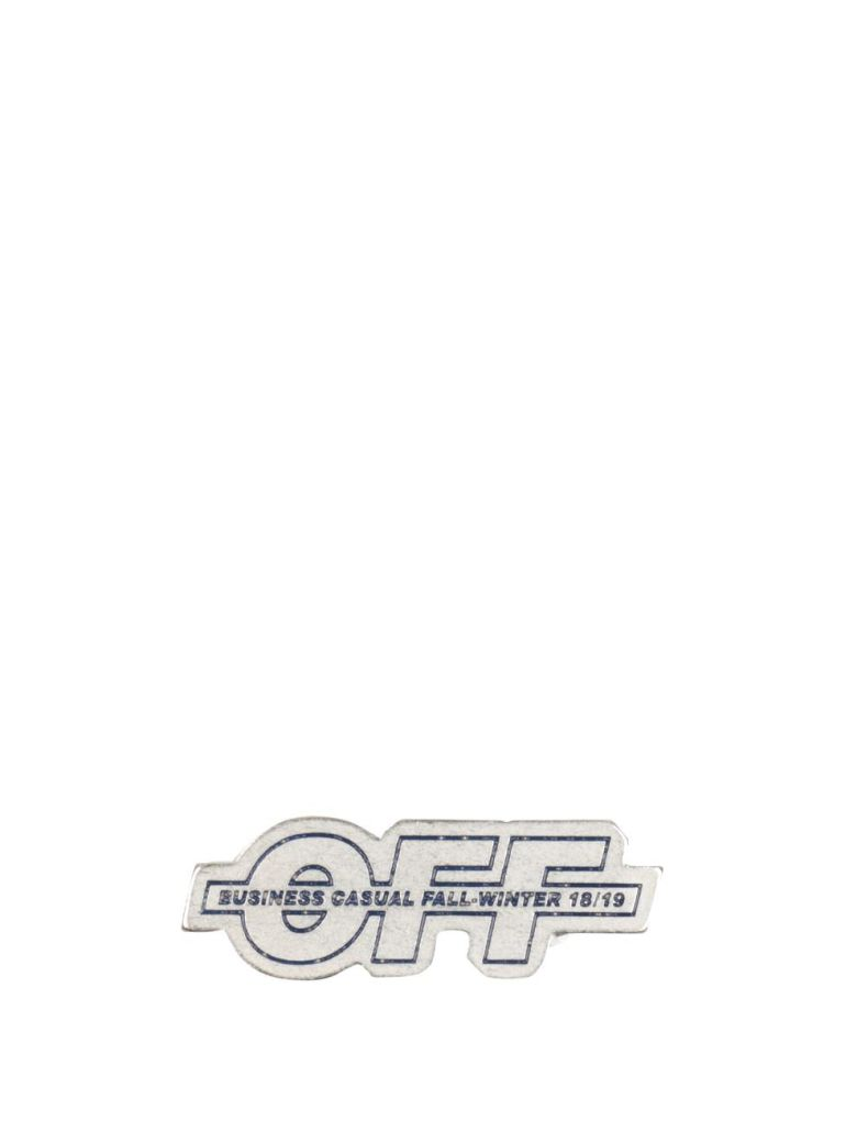 Off-White Business Casula Pins - ARGENTO